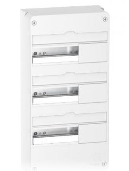 Resi9 - Coffret en saillie Blanc (RAL 9003)- 3 rangées de 13 modules SCHNEIDER ELECTRIC - Yonnelec Sens 89