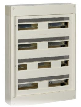 Pragma - coffret en saillie 4 rang.24 modules - 160A - sans porte - blanc SCHNEIDER ELECTRIC - Yonnelec Sens 89