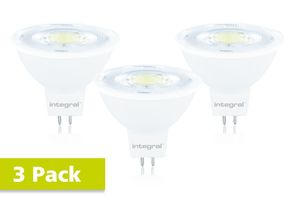 MR16 GU5.3 8.3W (51W) 4000K 700lm Gradable - PACK DE 3 INTEGRAL LED - Yonnelec Sens 89